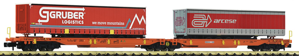 Fleischmann 825016 - Articulated double pocket wagon, Wascosa