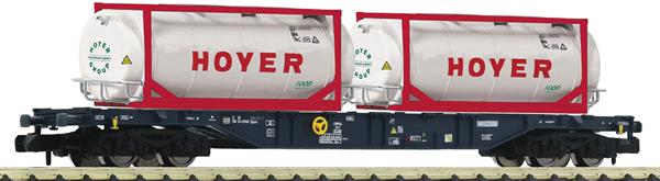 Fleischmann 825216 - Container carrier wagon