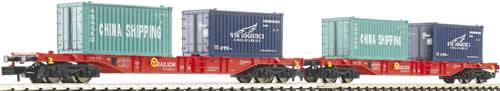 Fleischmann 825502 - 2-piece container wagon set