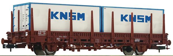 Fleischmann 825734 - Stake wagon