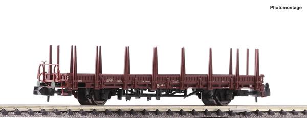 Fleischmann 825740 - Flat wagon with stanchions