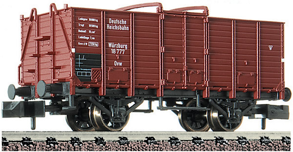 """Fleischmann 826002 - Gondola type Ovw """"Würzburg"""" DRG"""