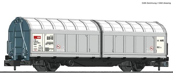 Fleischmann 826253 - Sliding wall wagon SBB Cargo