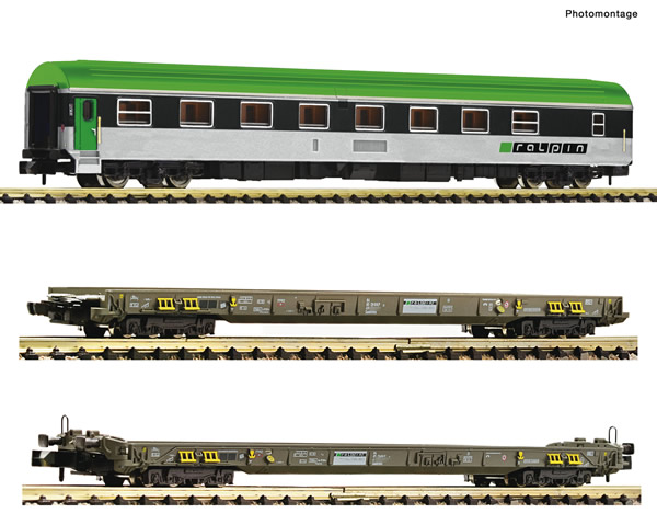 """Fleischmann 827112 - 3 piece set: """"Rollende Autobahn"""""""