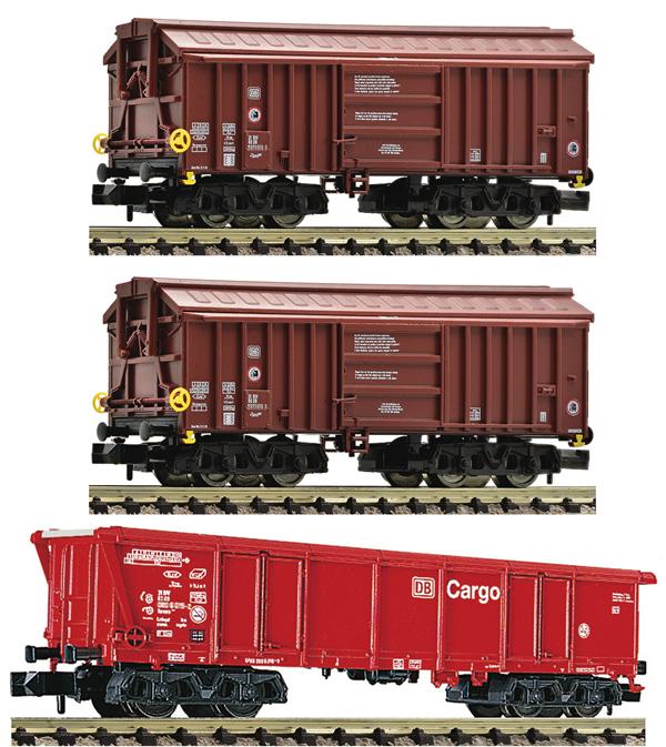 Fleischmann 829357 - 3 piece set: clay transpor wagons(Set 1)