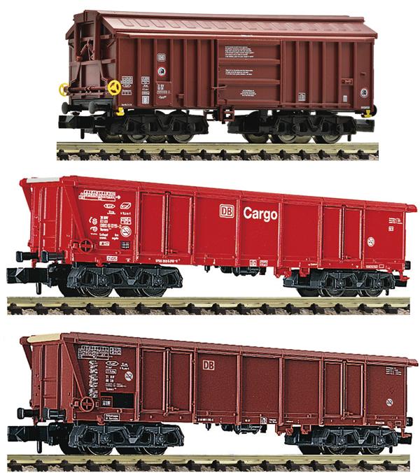Fleischmann 829358 - 3 piece set: clay transpor wagons(Set 2)