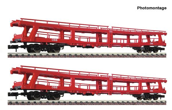 Fleischmann 829502 - 2 piece set stand-in deck coach carriers for passenger trains