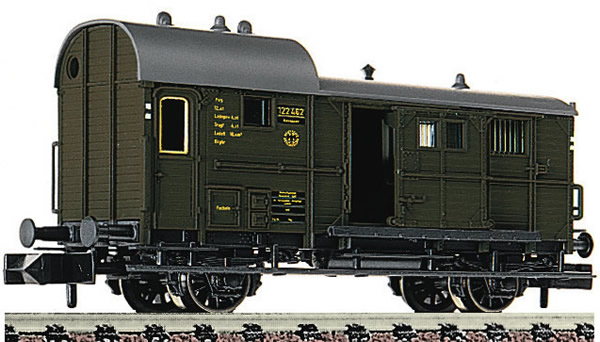 Fleischmann 830201 - Caboose type Pwg DRG