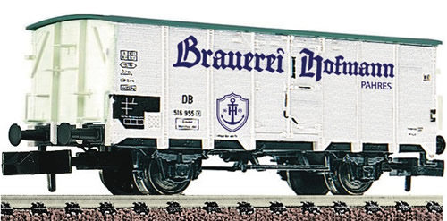 "Fleischmann 834107 - DB Beer wagon ""Hofmann"""