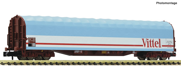 Fleischmann 837711 - Sliding tarpaulin wagon