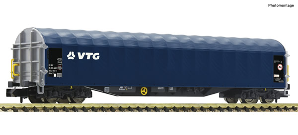 Fleischmann 837712 - Sliding tarpaulin wagon
