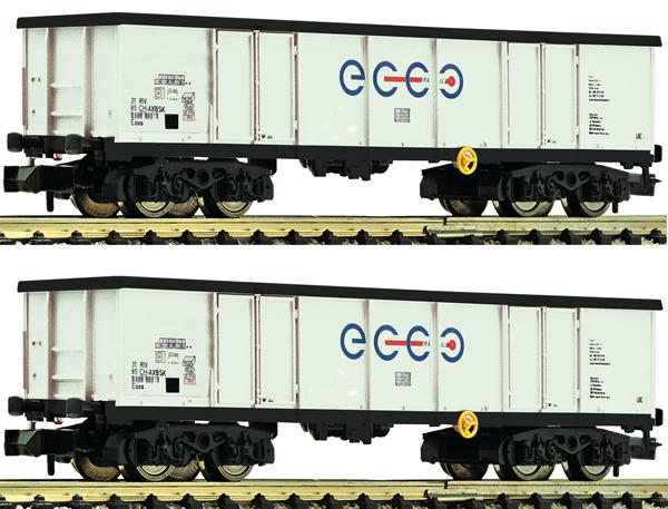 Fleischmann 841014 - 2 piece set: gondolas, Ecco Rail