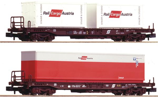 Fleischmann 845377 - 2 piece set: standard pocket wagons