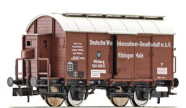 Fleischmann 845702 - German Wine Barrel Car of the DRG