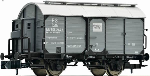 Fleischmann 845706 - Goods wagon for wine barrel transportation, FS