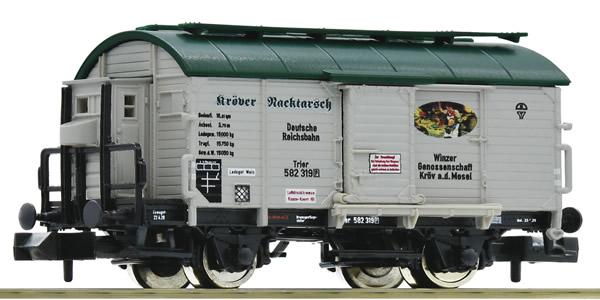 "Fleischmann 845709 - Wine barrel tank wagon ""Kröver Nacktarsch"" (Winzergenossenschaft Kröv) DRG"