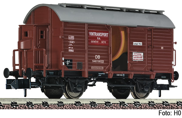 Fleischmann 845710 - Wine barrel tank wagon DB