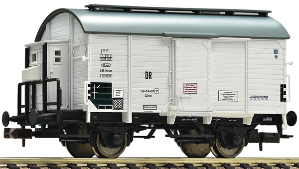 Fleischmann 845712 - Boxcar loaded with wine barrels