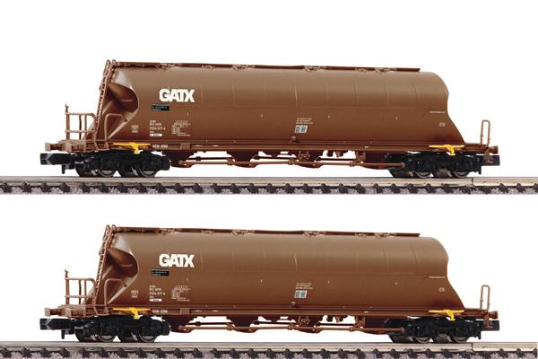 Fleischmann 849008 - 2 piece set dust silo wagons