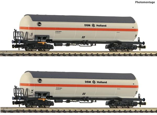 Fleischmann 849101 - 2 piece set pressure gas tank wagons