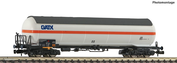 Fleischmann 849113 - Pressurised gas tank wagon Display 849110 #3