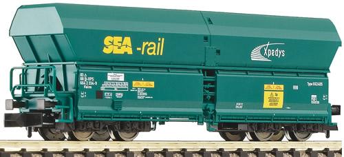 Fleischmann 852324 - Belgian High Capacity Self-unloading Hopper SEA-RAIL of the  SNCB