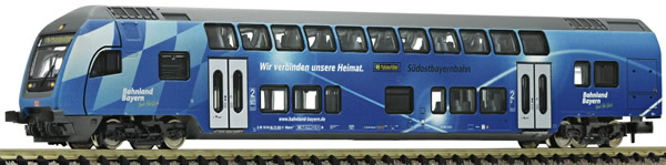 Fleischmann 862085 - 2nd class double-deck control cab coach, DB AG (Südostbayernbahn)
