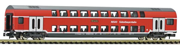 Fleischmann 862808 - 2nd class double-deck coach, DB AG (Südostbayernbahn)