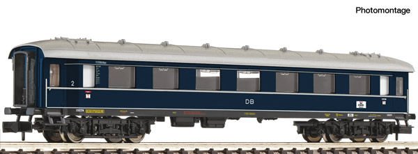 Fleischmann 863104 - 2nd class express train coach