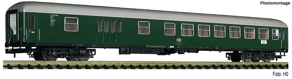 Fleischmann 863924 - 2nd class express train coach with baggage compartment