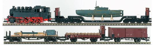 Fleischmann 864850 - HARBOUR-TRAIN-SET 2006
