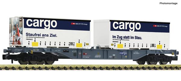Fleischmann 865244 - Container carrier wagon