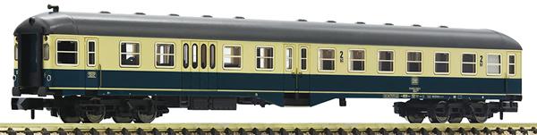 Fleischmann 866487 - 2nd class/baggage coach with control cab