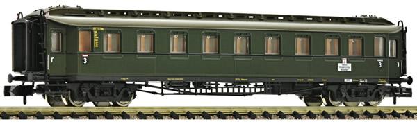 Fleischmann 878102 - 3rd class express coach type C 4ü with tail end indicators, DB