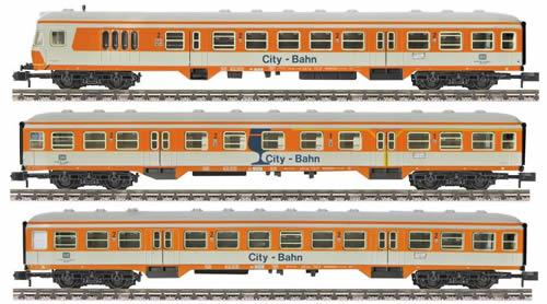 Fleischmann 881010 - 3-piece set City-Bahn