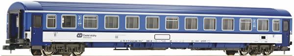 Fleischmann 881808 - 2nd class Eurofima passenger coach EC Porta Bohemica (Set 3), CD