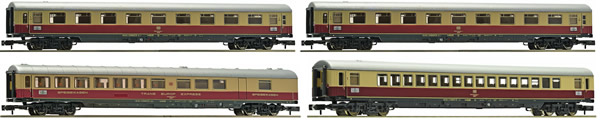 "Fleischmann 881905 - 4 piece set passenger train TEE 22/23 ""Van Beethoven"" DB"