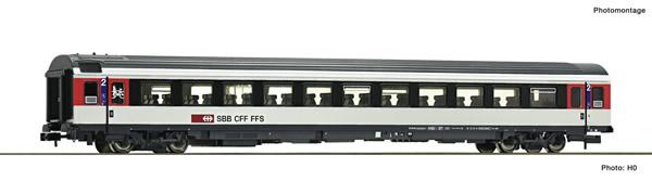 Fleischmann 890322 - 2nd class passenger carriage