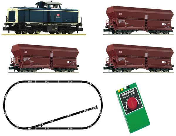 Fleischmann 931705 - Analogue Starter Set: Diesel locomotive 212