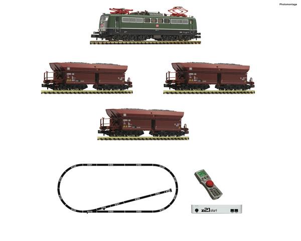 Fleischmann 931896 - Digital Starter Set z21: Electric locomotive class 151and goods train