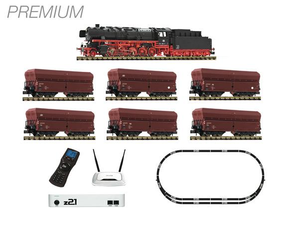Fleischmann 931898 - FLEISCHMANN Premium - z21 digital set: Steam locomotive class 044 and ore train