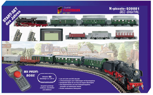 Fleischmann 939881 - Digital Startset of the Year from FLEISCHMANN - with PROFI-BOSS and DCC-loco! With two trains