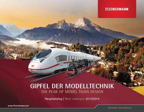 Fleischmann 990113 - 2013/14 HO and N Catalog