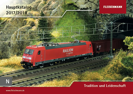 Fleischmann 990217 - N-Scale Main Catalog 2017/18 (English/French)