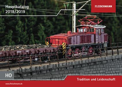 Fleischmann 990318 - Fleischmann Main Catalog H0, 2018/2019, German