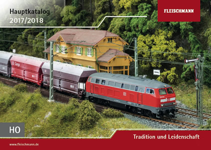 Fleischmann 990417 - HO Main Catalog 2017/18 (English/French)