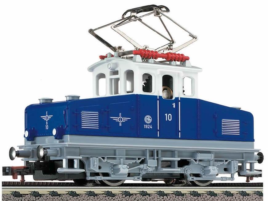 Model Train Racks : Fleischmann rack pinion electric loco for