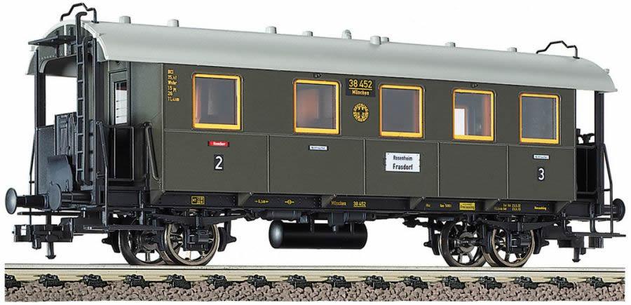 Fleischmann 5091 - Passenger coach 2./3. class, type BCi bay 10 of the DRG