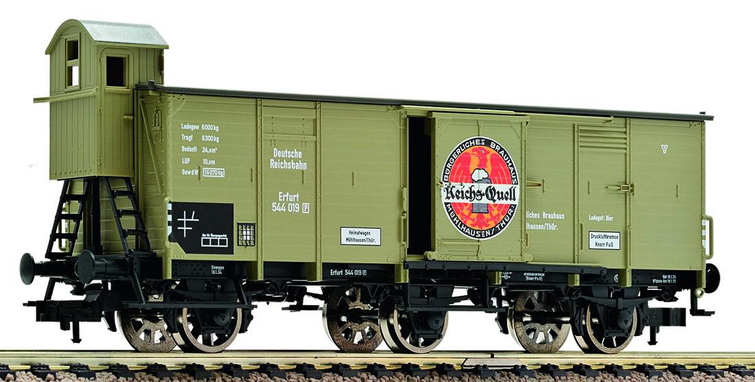 German 3-axle Beer Car Of The DRG
