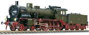 German Steam Locomotive S6 of the KPEV (Sound)